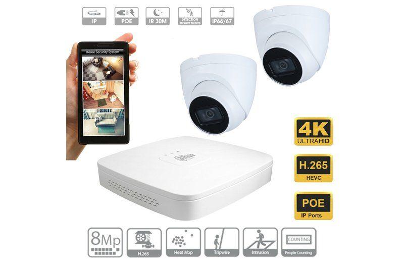 5MP Dahua pro IP Cameras with Professional Installation