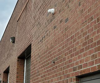 Commercial Warehouse IP Cameras CCTV