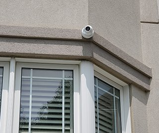 Residential Security 6 IP POE Cameras Installation