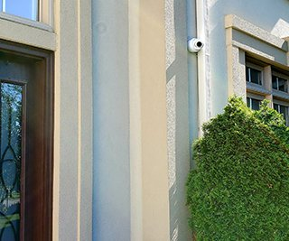 Residential Security IP Cameras Installation